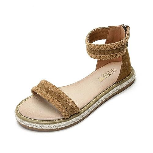 3fcea03fed039 Zapatillas Sandalias De Playa De Verano para Mujer Zapatillas Romanas  Zapatillas De Tacón Bajo Zapatos De