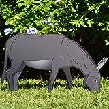 Teak Isle Printed Donkey Nativity Figure