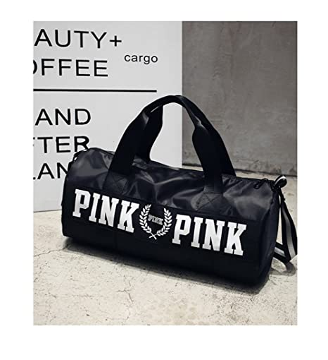 839b917d4697 Beauty Smooth Design Lightweight Water-Resistant Folding Nylon Shoulder Bags  or Holdall Pink Gym Sports
