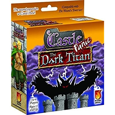 Fireside Games Castle Panic Dark Titan Board Game: Toys & Games