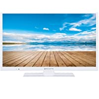 "TV LED 24"" Smart TV HD Ready 200HZ WiFi Satellite Blanche"