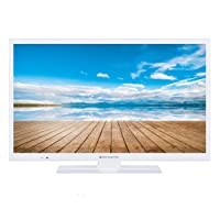 "TV LED 24 "" Smart TV HD Ready 200 HZ WiFi Satellite Blanche"