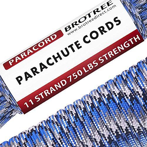 知っているに立ち寄るサドル犯罪Brotree パラコード (耐荷重340kg) 11芯 5mmx15m