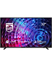 Philips 32PFT5803/12 32-Inch Full HD Smart LED TV with Freeview Play - Black (2018/2019 Model)