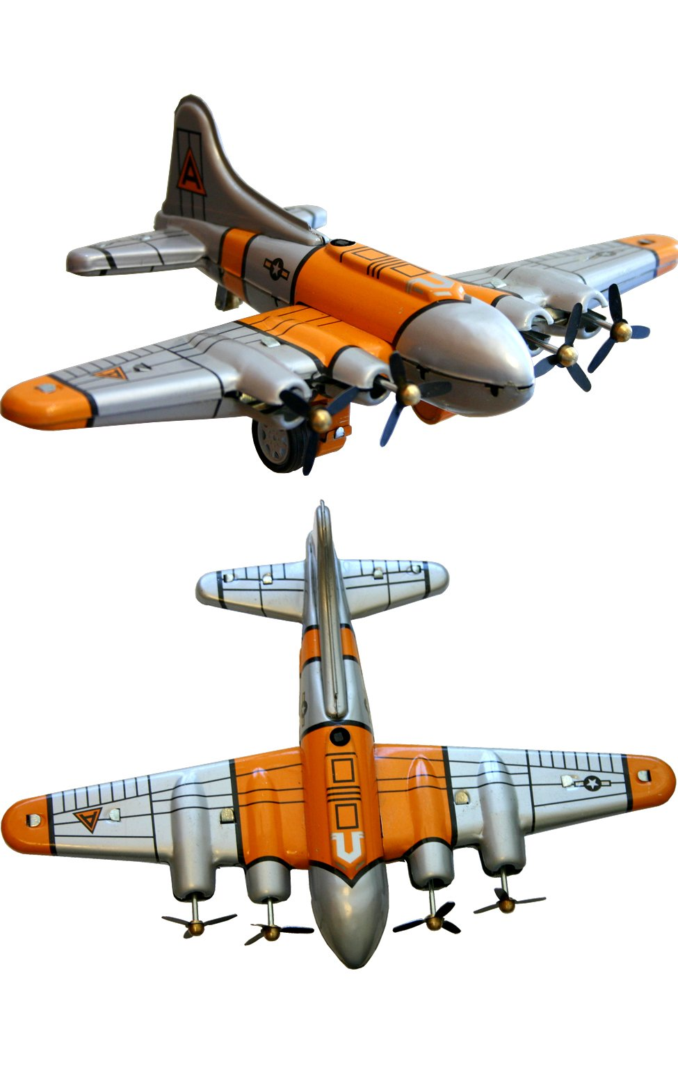 Shan MS489 Collectible Tin Toy - Plane