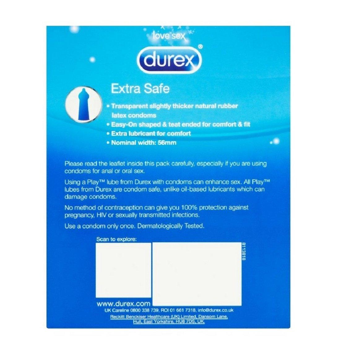 Durex Preservativos Extra Seguro - 24 unidades: Amazon.es: Salud y cuidado personal