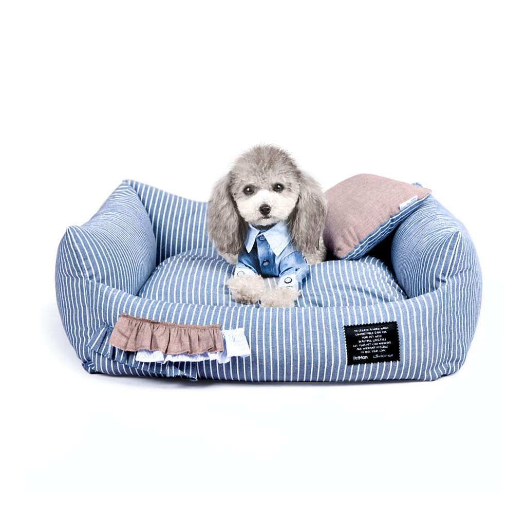 65cm58cm DSADDSD Pet Bed Kennel Cat Litter Small And Medium-sized Dogs Removable Pet Supplies (Size   65cm58cm)