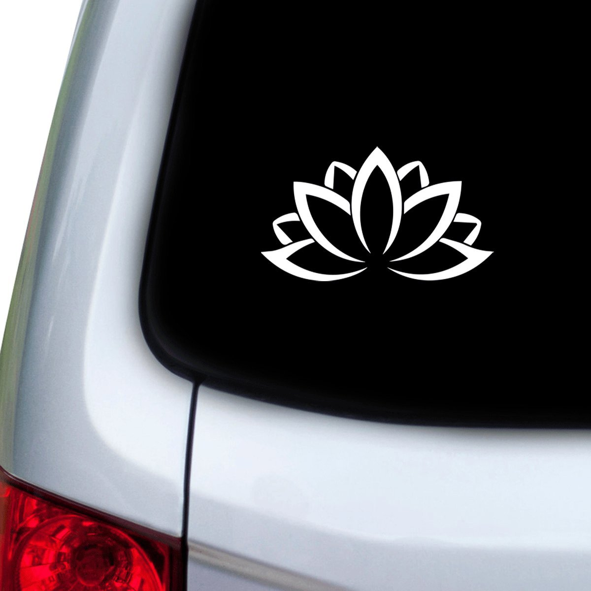 Hoods Red Doors StickAny Car and Auto Decal Series Opening Flower Sticker for Windows