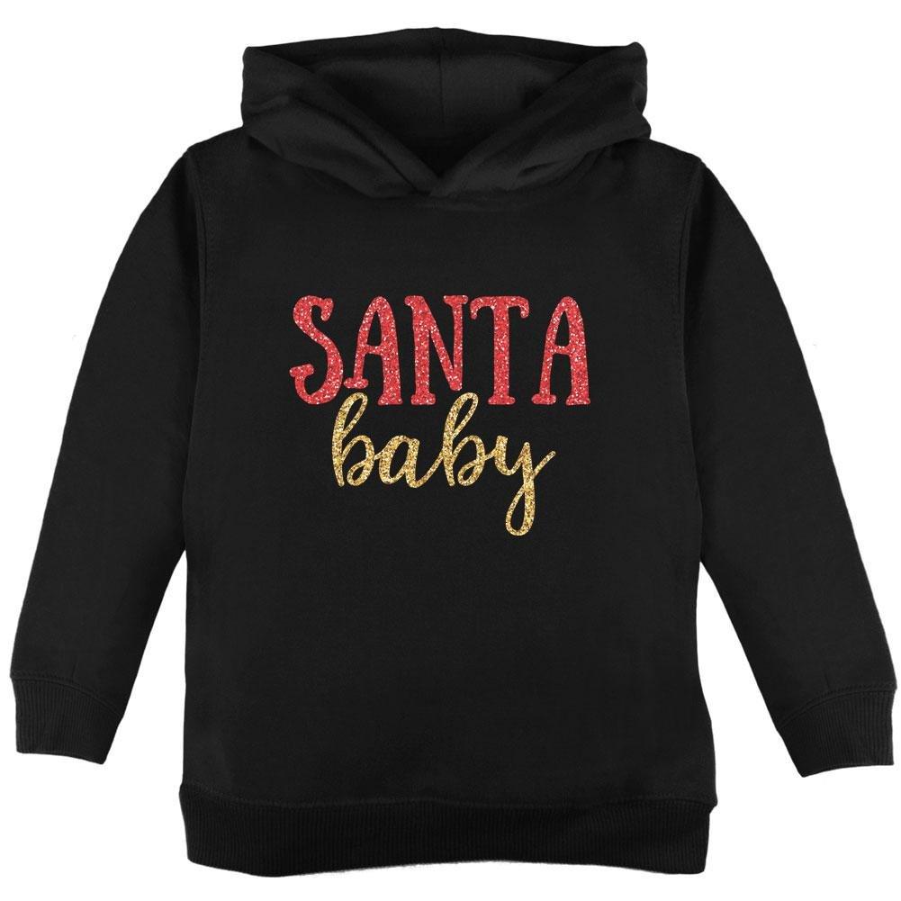 Old Glory Christmas Santa Baby Toddler Hoodie