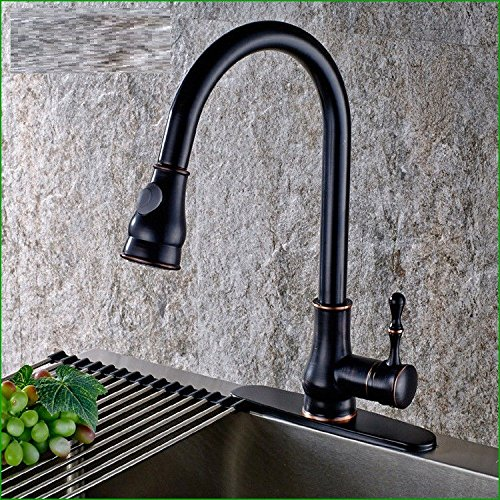 Gyps Faucet Basin Mixer Tap Waterfall Faucet Antique Bathroom The Copper Black 古 pull-down faucet European kitchen sink wash bowls wash dish basin mixer Bathroom Tub Lever Faucet