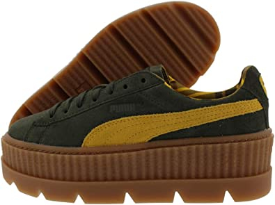 puma suede cleated creeper