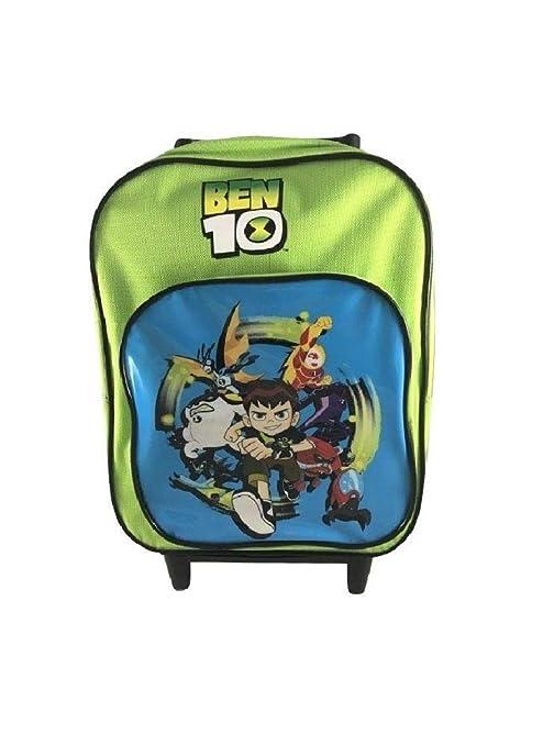 comprare on line fdf22 1ce97 Zaino Scuola Mini Trolley Asilo Ben 10 Verde: Amazon.it ...