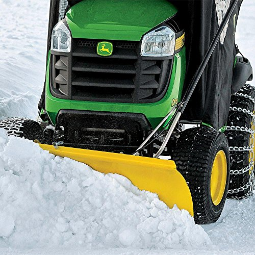 Toucan City John Deere 46 in. Front Blade Attachment for Tractors BG20943 And Tool Kit (9-Piece)