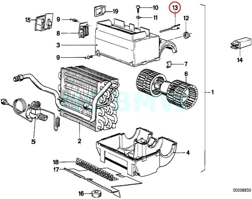 Amazon.com: GENUINE BMW Temperature Sensor - Evaporator 64511377476:  AutomotiveAmazon.com