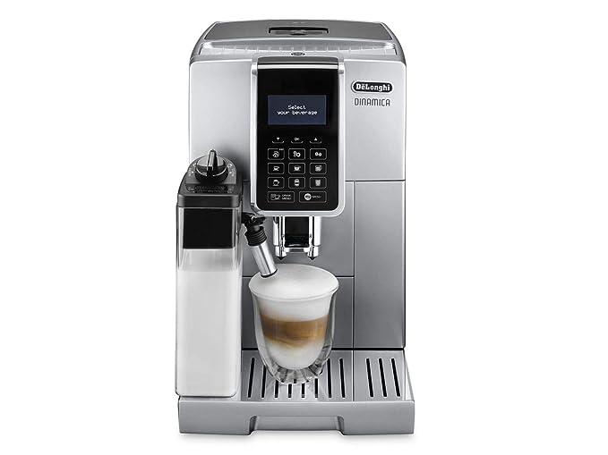 S Cafetera (Independiente, Máquina de café en cápsulas, 1,8 L, Molinillo integrado, 1450 W, Plata): Amazon.es: Hogar