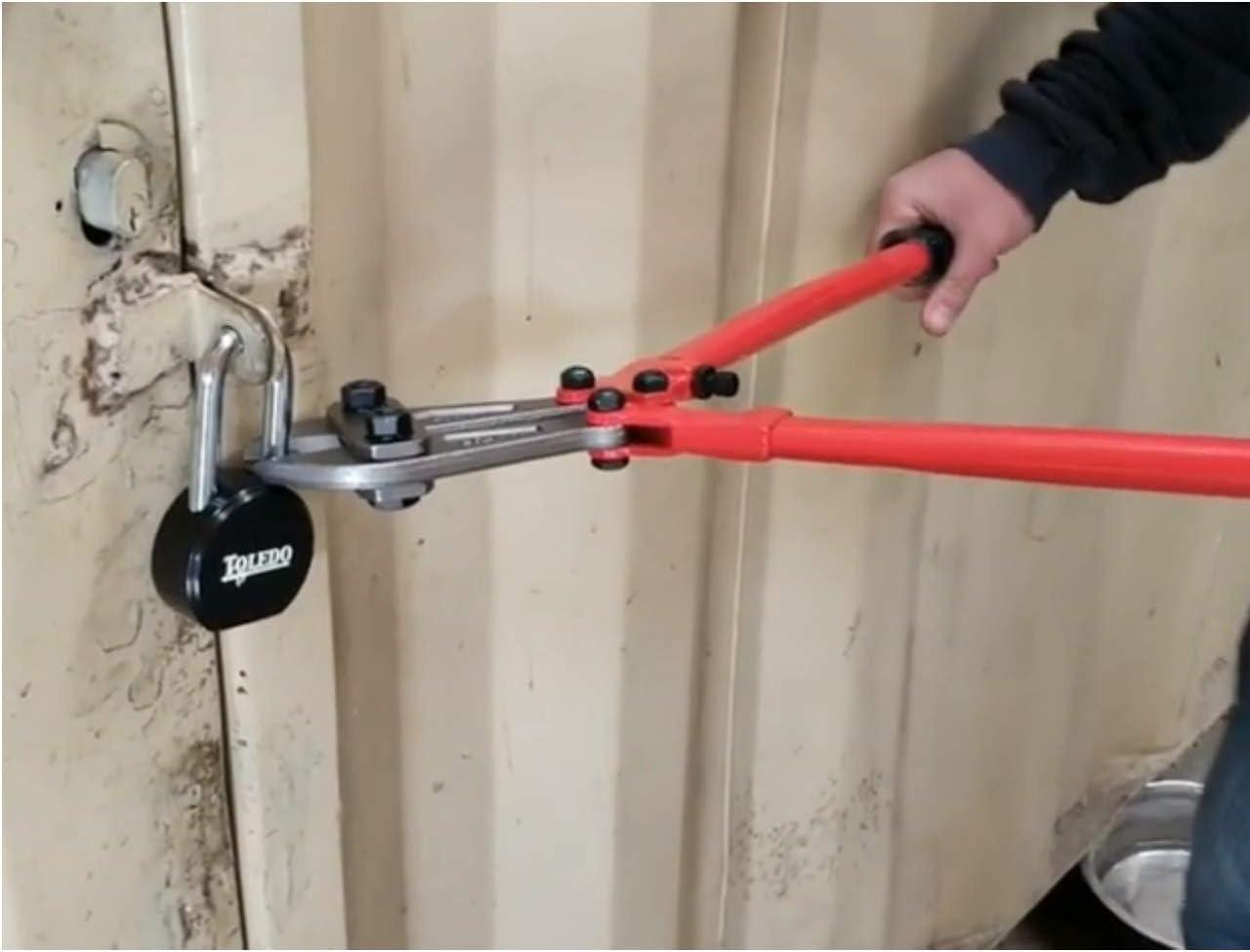 Toledo Lock Black Series tbk90r Candados de seguridad con llave redonda con American Lock Candado de Chavetas (cada orden es Custom Llave para trabajar con Mismo Grupo Llave): Amazon.es: Bricolaje y herramientas