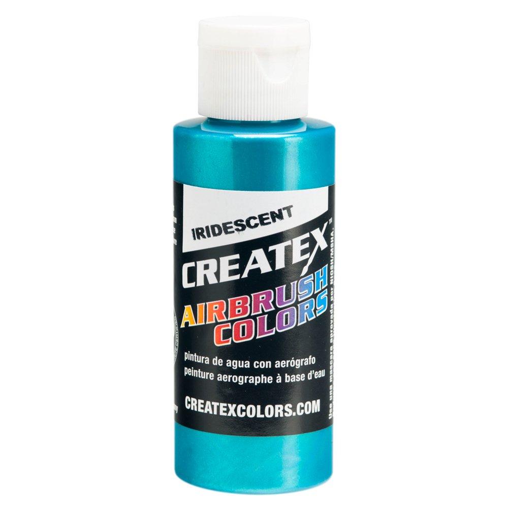 1 Gal. of Createx Iridescent Turquoise #5504 CREATEX AIRBRUSH COLORS Hobby Craft Art PAINT