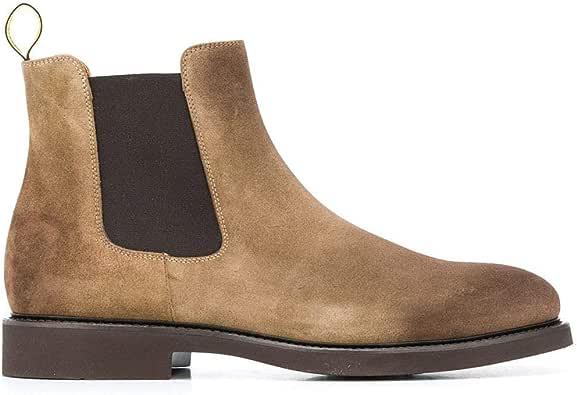 DOUCAL'S Luxury Fashion Mens DU1343GENOUF024AL00 Beige Ankle Boots | Fall Winter 19