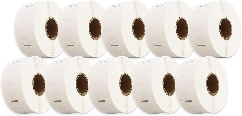 500 Etichette per Rotolo compatibile per Dymo LabelWriter /& Seiko etichettatrici Cartridges Kingdom 11355 S0722550 19mm x 51mm Etichette di indirizzo