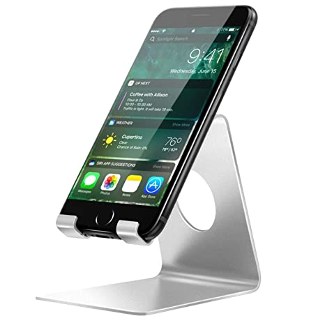 Porta Iphone Da Scrivania.Moko Supporto Da Tavolo Per Cellulare Stand In Alluminio Per Smartphone Appleiphone Xs Xs Max Xr Samsung Galaxy S10 S9 Zenfone 3 2 Huawei P20 E