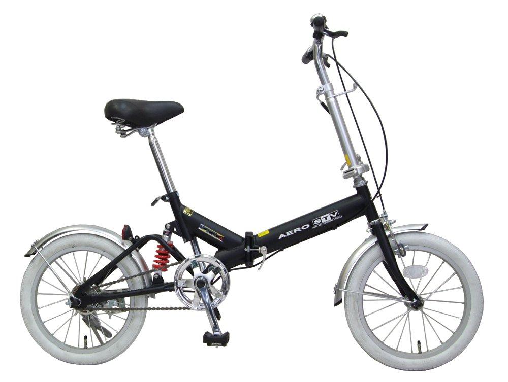 16インチ リアサスペンション付 折りたたみ 自転車 AHB-160SUSNTD 16型 B0785P5LSS