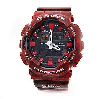 b925ea236da Amazon.com: Casio G-Shock New! GAX-100MB-4A G-Lide Red Watch: Watches