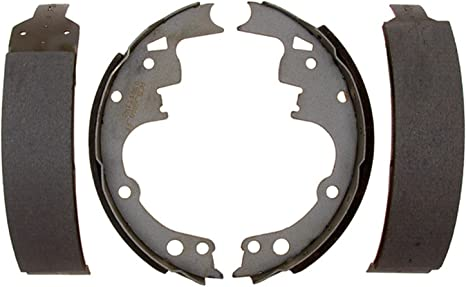 ACDelco 14747B Advantage Bonded Rear Brake Shoe Set with Lever