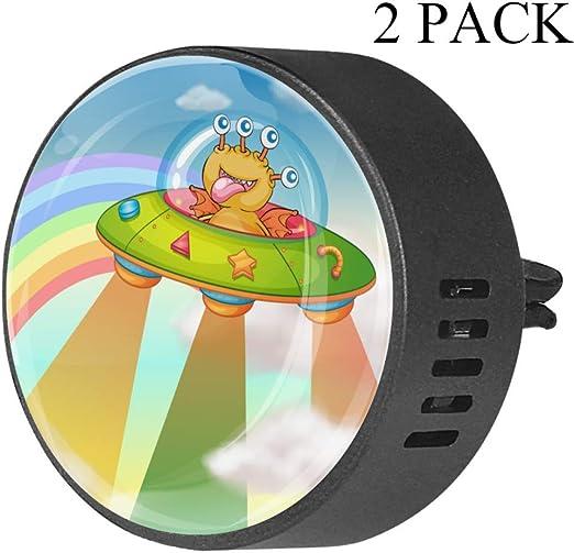 Ufo Alien De Dibujos Animados Clip de ventilación de difusor de ...