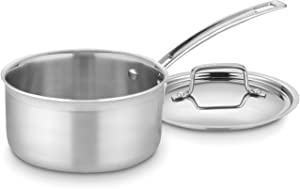Cuisinart-MCP19-18N-MultiClad-Pro-Stainless-Steel-2-Quart-Saucepan-with-Cover