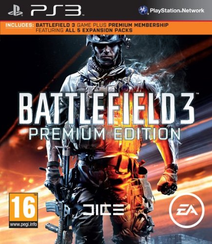 Electronic Arts Battlefield 3 Premium Edition (PS3)