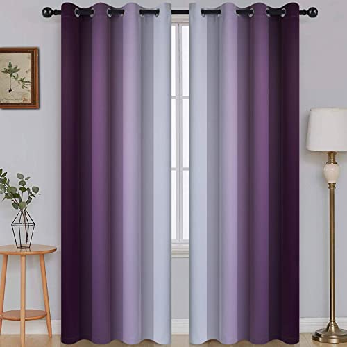 Ombre Room Darkening Curtain