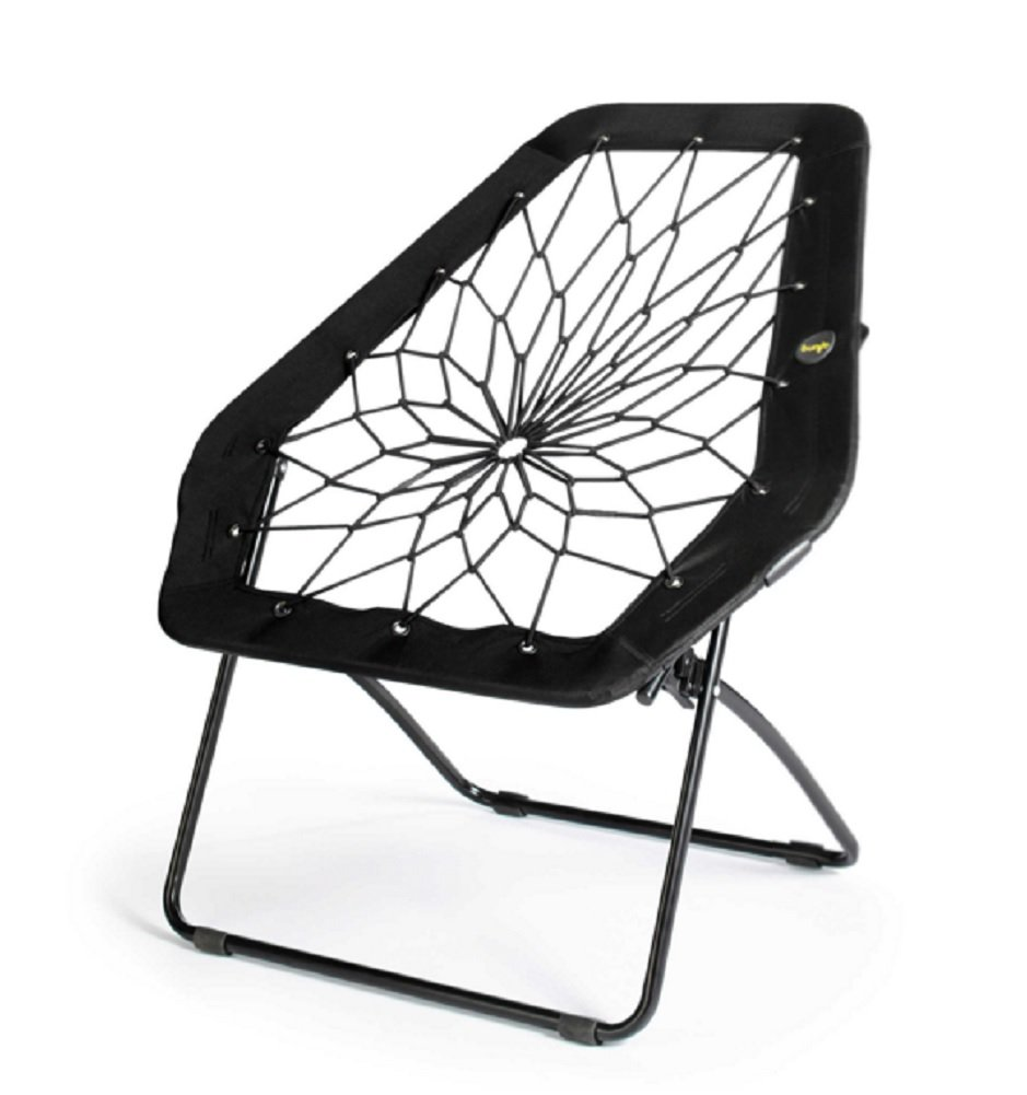 Nice Amazon.com: Bunjo Chair Bungee Chair Hex (Black). Great For College, Teens,  Kids, Sporting Events: Kitchen U0026 Dining Design