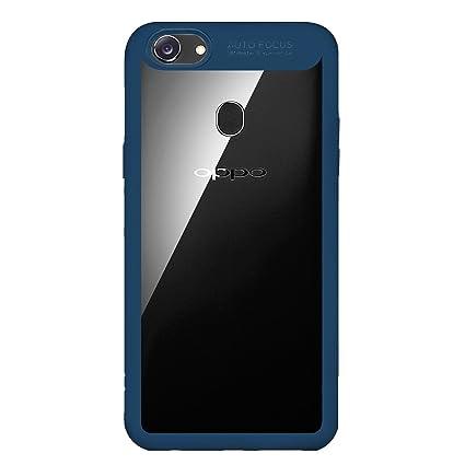 sale retailer 999f3 acda0 Bounceback ® Oppo F5 Case Shock Proof Transparent: Amazon.in ...