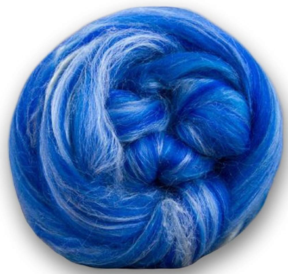 Paradise Fibers Soft /& Silky Constellation Range Aquila 70/% 23 Micron Solid Color Merino Wool and 30/% Bleached Tussah Silk Blend