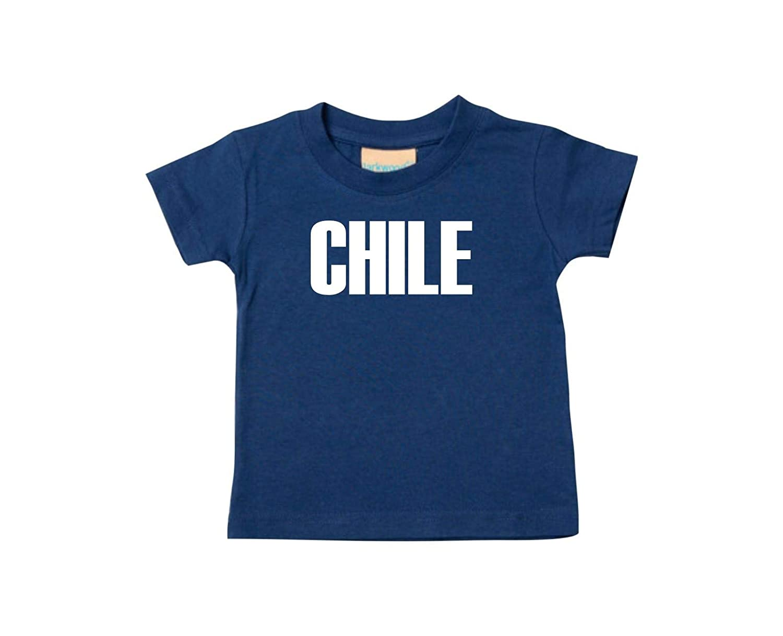 f413d43386077 Shirtstown Bebé Niños Camiseta Fútbol Camiseta de País Chile  Amazon.es   Ropa y
