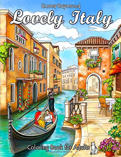 Pdf Crafts Lovely Italy Coloring Book for Adults