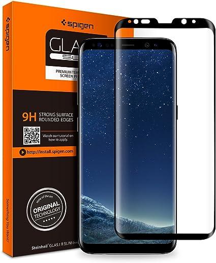 Spigen, Protector de Pantalla para Samsung Galaxy S8 Plus (571GL21780): Amazon.es: Electrónica
