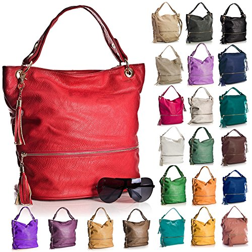 donna a Shop spalla Borse Big Blu Handbag X8qAFF