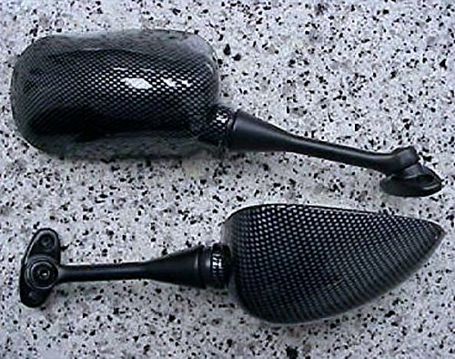 i5 NEW CARBON MIRRORS for Honda CBR600 CBR1000 CBR 600 600RR 1000 RR 1000RR CBR600RR CBR1000RR i5 Motorcycle