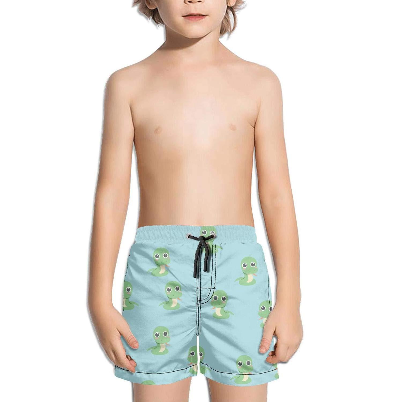 Boys Quick Dry Swim Trunks Shark Seamless Beach Board Shorts