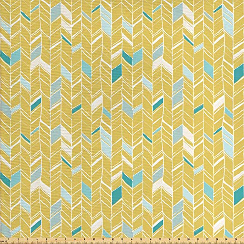 mustard yellow upholstery fabric - 7