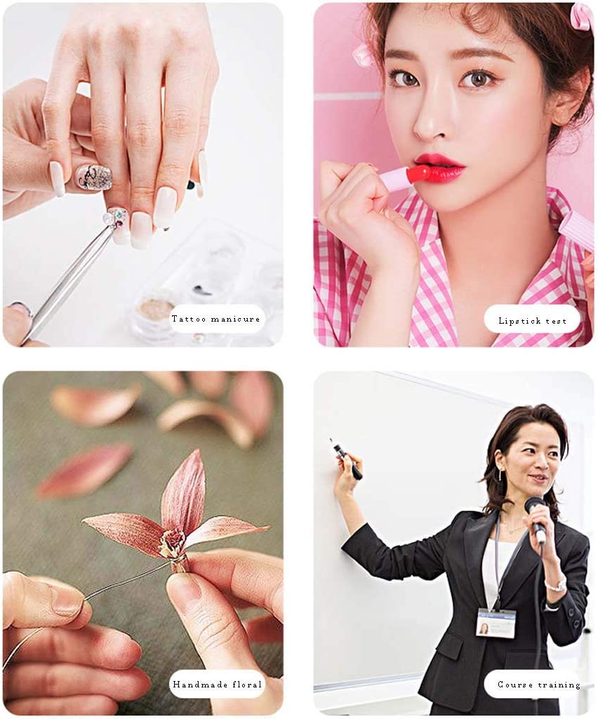 Makeup and Selfie Photography LING AI DA MAI LED Ring Light with Tripod and Phone Stand with 3 Lighting Modes and 10 Brightness Levels for Streaming