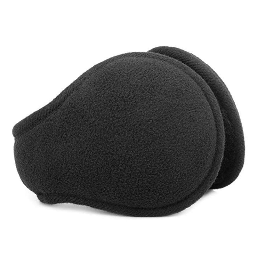 DREAMVAN Unisex Foldable Ear Warmers Polar Fleece//kints Winter EarMuffs