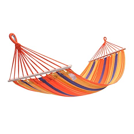 amazon com kingcamp hammock cotton fabric canvas 220lbs swing bed
