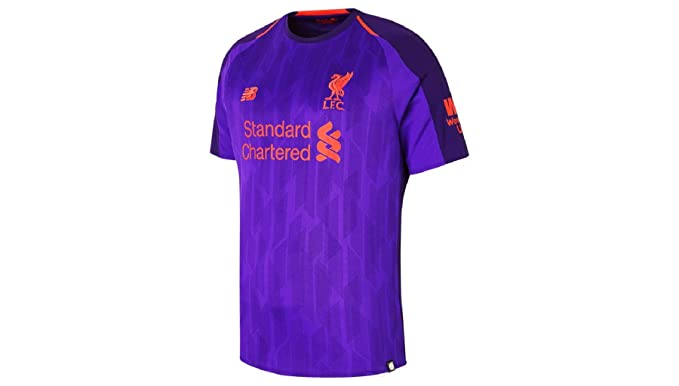 Amazon.com  Liverpool Men s 2018 2019 Away Soccer Jersey  Sports ... 690f52fb1