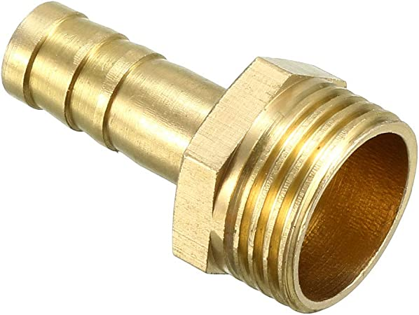 Brass 8mm Quick Release To 19.5mm Thread Female Connector Adaptor Fitting