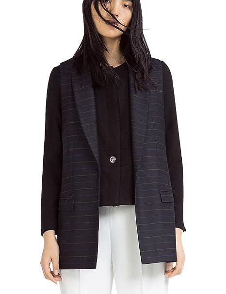 Zara - Blazer cuello redondo, talla XS: Amazon.es: Ropa y ...