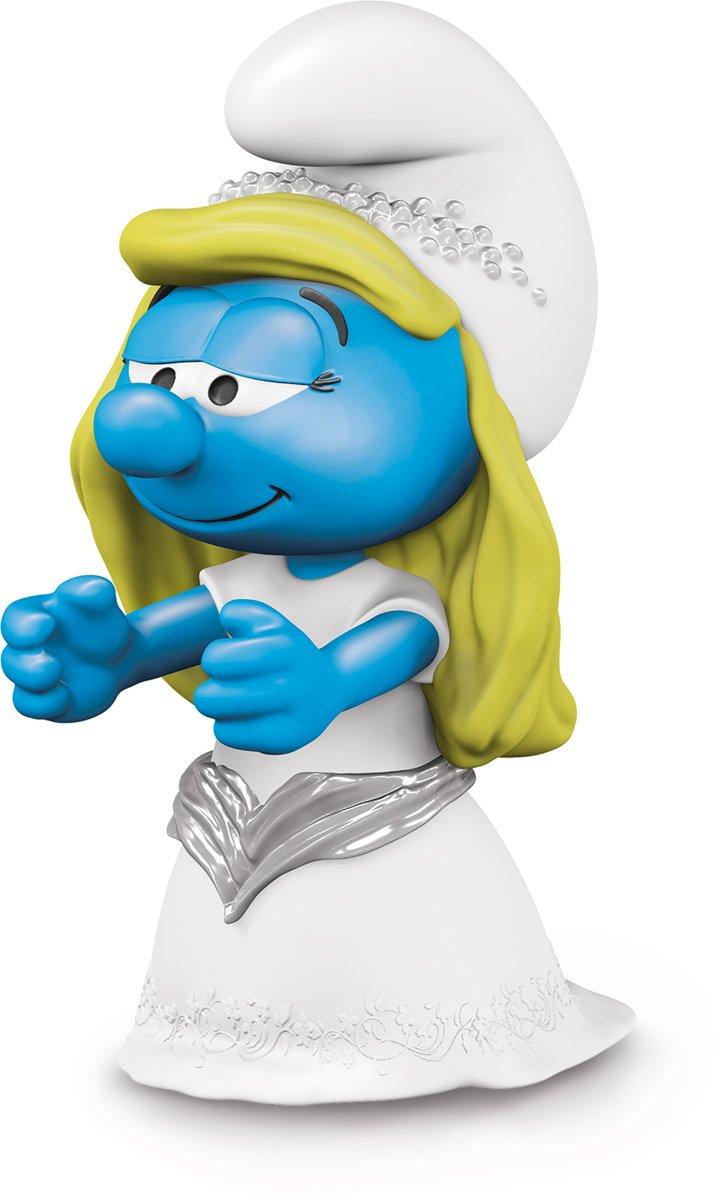 Smurfs Bride Smurfette Action Figure Schleich North America 20799