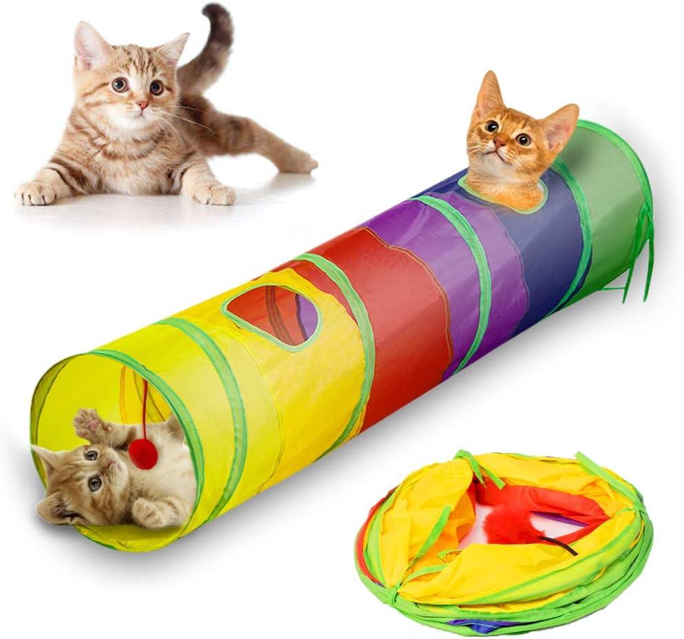 Andiker Katzentunnel, Haustiertunnel, faltbares Spielzeug
