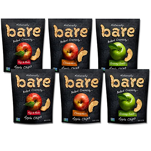 Bare Natural Apple Chips - Variety Packs
